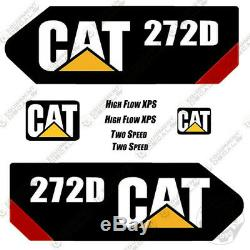 Caterpillar 272D 2013 Decal Kit Equipment Decals