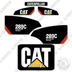 Caterpillar 289C 2-Speed High Flow XPS Decal Kit Equipment Decals 289 C