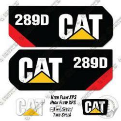 Caterpillar 289D 2014+ Decal Kit Equipment Decals 289 D