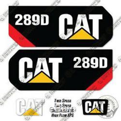 Caterpillar 289D Decal Kit Skid Steer