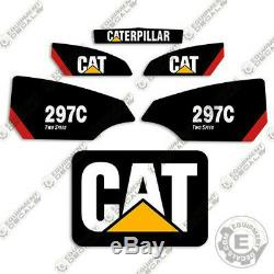 Caterpillar 297C Decal Kit Equipment Decals 297 C (Two Speed)