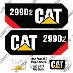 Caterpillar 299D2 Decal Kit Equipment Decals 299 D2
