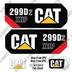Caterpillar 299D2 XHP Decal Kit Equipment Decals 299 D2 XHP