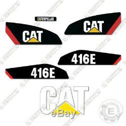 Caterpillar 416 E Backhoe Equipment Decals