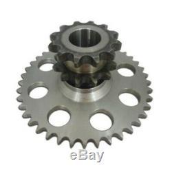 Chain Drive Cluster Sprocket Set D76529 D64175 D63780 for Case Skid Steer 1845