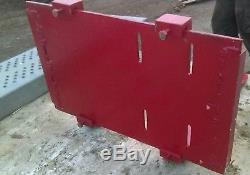 Compact Tractor loader adjustable Pallet Forks, skid steer