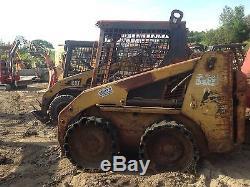 Dismantling-Caterpillar 216 Skid Steer Loader Bobcat Drive Motor Only
