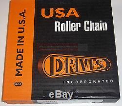 Drives USA #80 Chain 10' Roll Skid Steer Loader Bobcat New Holland Case Thomas