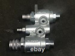Faster 4BD4FH Hydraulic Manifold Quick connect flat face saturn block bobcat