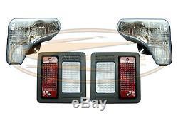 For Bobcat S740 S750 S770 Headlight Tail Light Kit With Bulbs Lens lamp Skid