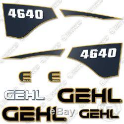 GEHL SL4640 Decal Kit Skid Steer Decals 4640