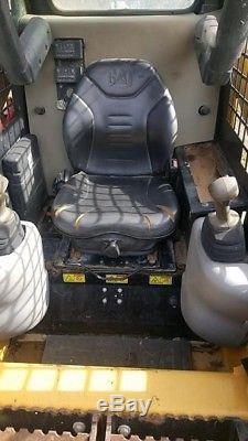 Genuine 2011 Caterpillar 247b2 Tracked Skid Steer Loader Open Cab