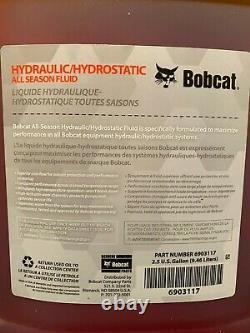 Genuine Bobcat Hydraulic Oil Hydrostatic Fluid 5 Gallon (2x2.5) SkidSteer Loader