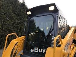 Genuine Gehl Ctl75 2009 Tracked Skid Steer Loader Closed Cab