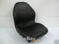 High Back Black Seat Bobcat 463,542,543,642,643,742,743,843, T190 Skid Steer #cd