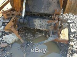 JCB 180 Robot Skid Steer Loader Dismantling For Parts! Quick hitch only