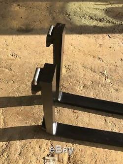 JCB Fork tine fits 2CX Robot Skid steer 170, 180, 19, 1105