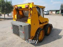 Jcb Robot 165 Skid Steer Compact Loader Bobcat Loading Shovel