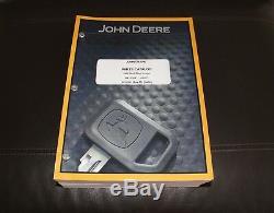 John Deere 320e Skid Steer Loader Parts Catalog Manual Pc11241