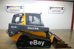 John Deere 323d Track Skid Steer Loader, Open Rops, 69hp, 2 Speed, Snail Speed