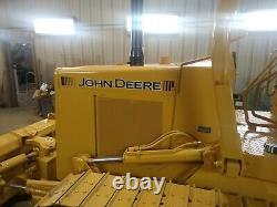 John Deere 450G Dozer decal kit with the black stripes