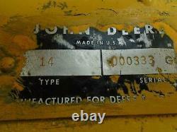 John Deere Jd14 Skid Steer Loader
