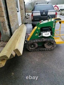 Kanga loader/ skid steer post knocker