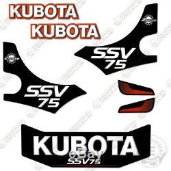 Kubota SSV75 Decal Kit Skid Steer Replacement Decals (SSV 75) 7 Year Vinyl