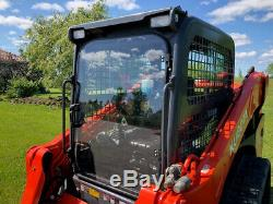 Kubota SVL 75-2 1/2 Lexan Forestry door. Fits 90 and 95-2 as well