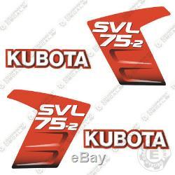 Kubota SVL 75-2 Decals Skid Steer Replacement Decals Kubota SVL75-2 SVL75