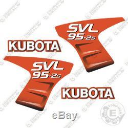 Kubota SVL 95-2S Decals Skid Steer Replacement Decals (95 2S) 952S