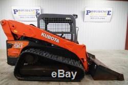 Kubota Svl 90 Skid Steer Track Loader, Orops, 8600 Lbs Tipping Load, Std Flow
