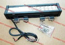 LED FLOOD LIGHT Bar TRACTOR COMBINE INDUSTRIAL BACKHOE Deere Cat Case Massey IH