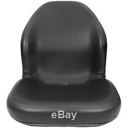 Lgt125bl New Universal Fit Seat For Bobcat Skid Steer Loaders, Excavator