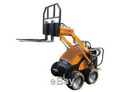 Mini Skid Steer Loader Rhinoceros ML300 (includes VAT and 3 attachments)