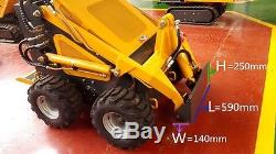 Mixer for use with our Mini Skid Steer and Mini Loader Units incl Bobcat