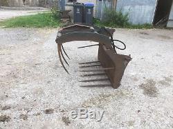 Muck Grab. Loader Loadall Telehandler Skid Steer Tractor Spreader