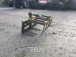 Muck Grab. Skid Steer Loader Telehandler Loadall Tractor Spreader