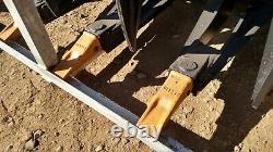 New 78 Greatbear Great Bear Heavy Grass Fork Grapple Skid Steer Attachment L@@k