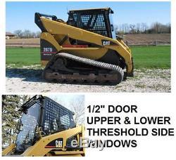 New Caterpillar 1/2 Door & Windows For Skid Steer Loader