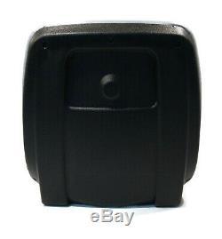 New Grey HIGH BACK SEAT for John Deere Skid Steer Loader 70 125 240 7775 8875