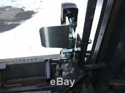New Holland 1/2 LEXAN DEMOLITION Door and side windows. Skid steer loader