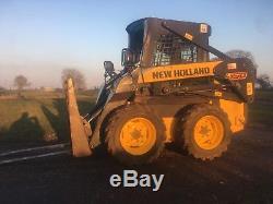 New Holland L150 Skidsteer loader like Bobcat Newholland Skid Steer tractor