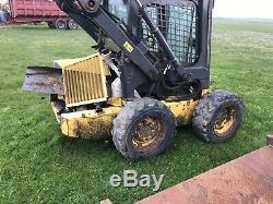 New Holland LS160 Skid Steer Tractor Loader Tele Handler Bobcat