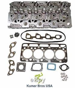 New Kubota V2203 Complete Diesel Cylinder Head & Upper Gasket Set