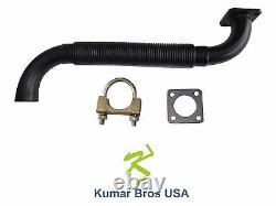 New Kumar Bros Bobcat Exhaust Muffler Pipe WithGasket & Clamp 643 645 743 1600