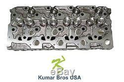 New Kumar Bros USA Complete Cylinder Head for Bobcat 773 Kubota V2003