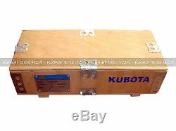 New KumarBros USA BOBCAT T190 KUBOTA V2003 Complete Cyl Head & Full Gasket Set