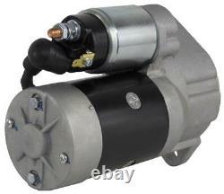 New Starter Motor Fits Takeuchi Skid Steer Loader Tl130 Yanmar 4tne98 4tne98tbl