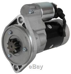 New Starter Motor Takeuchi Skid Steer Loader Tl130 Yanmar 4tne98 4tne98tbl